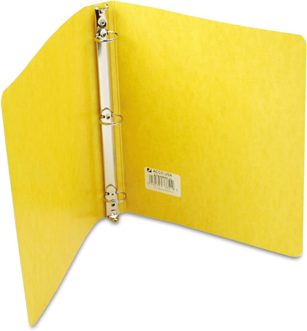 3 Folder Fastener Capacity 300 Sheet Capacity 1 Each 20 pt Letter 8.50 Width x 11 Length Sheet Size Red Acco Presstex Top Binding Cover - Presstex