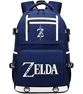Nintendo Legend Of Zelda Legend Of Zelda Black Woods Boys Backpack, Unisex, Black/Green Mochila infantil 41 centimeters 20 Verde (Green): Amazon.es: Equipaje