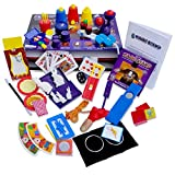 Jumbo Magic Tricks Set for Kids. Perform Hundreds Today s Most Exciting Tricks. Magic Kit with Instructional DVD