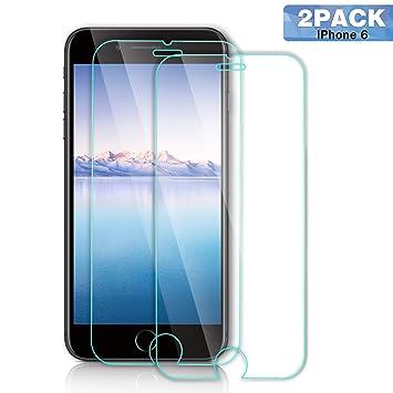 SGIN Protector de Pantalla de Cristal Templado iPhone 6/6S/7/8,