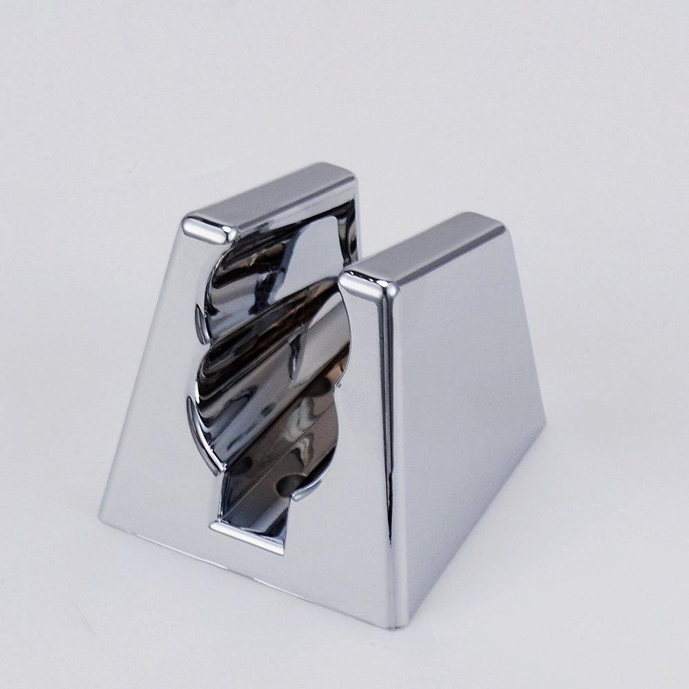 Polished Chrome KES LP907 Toilet Hand Held Bidet Shattaf Cloth Diaper Sprayer with 5 Ft Extra Long Hose and Bracket Holder