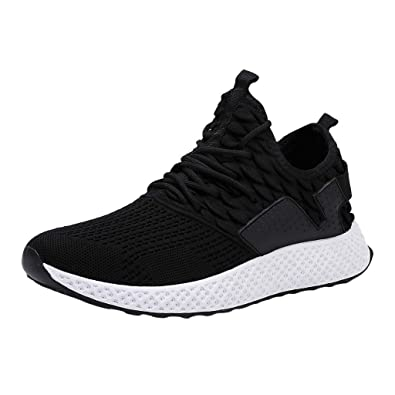 17bfdfdacc1aa Men's Trainers Breathable Mesh Running Shoes Casual Fashion Outdoor ...