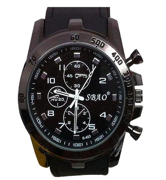 Amazon.com: Reloj de pulsera deportivo de cuarzo analógico y ...