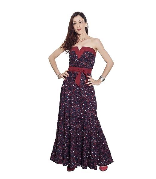 es Mujer Uve Amazon Flamenco Vestido Ropa Volantes Anoushka Para wB70xSR