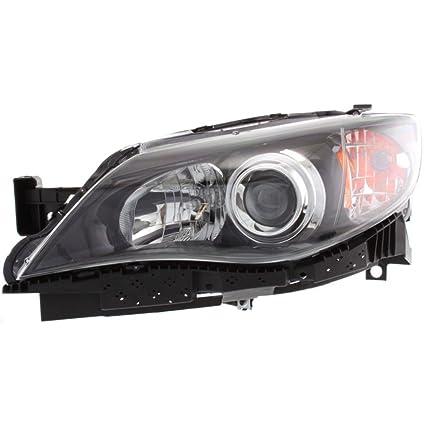 Left Driver Side LH Halogen Headlight for 2008-2011 SUBARA IMPREZA//WRX
