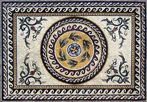 (Roman Marble Mosaic | Mosaic Art | Mosaic Designs | Mosaic Artwork | Mosaic Wall Art by Mozaico | Handmade Mosaics | 87