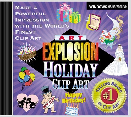 Art Explosion : Royalty Free Holiday Clip Art (For: Flyers, Greeting Cards, Invitations & More) (Powerpoint Clipart)
