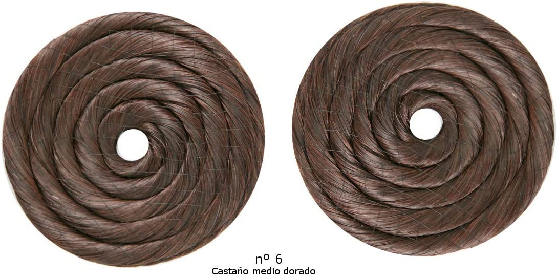 Rodetes de fallera tamaño grande entre 9,5cm y 10cm (rubio Exrtraclaro nº 88): Amazon.es: Belleza