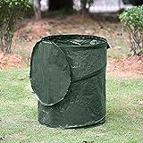 Wolfpack Intl Large 45 Gallon Reusable Pop Up Lawn & Garden Trash Bag