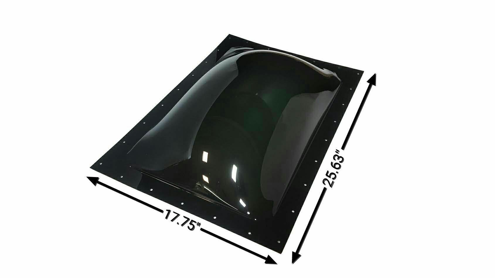 Keystone RV RV Skylight Outer Dome 14'' x 22'' (Smoke) by Keystone RV