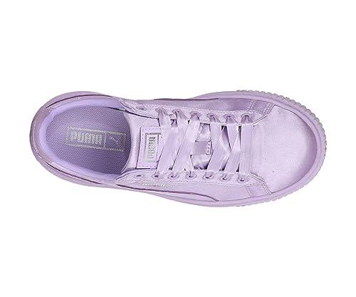 Puma Girl's Basket Platform Tween At Low SneakersBuy Jr Online Aq435jRL