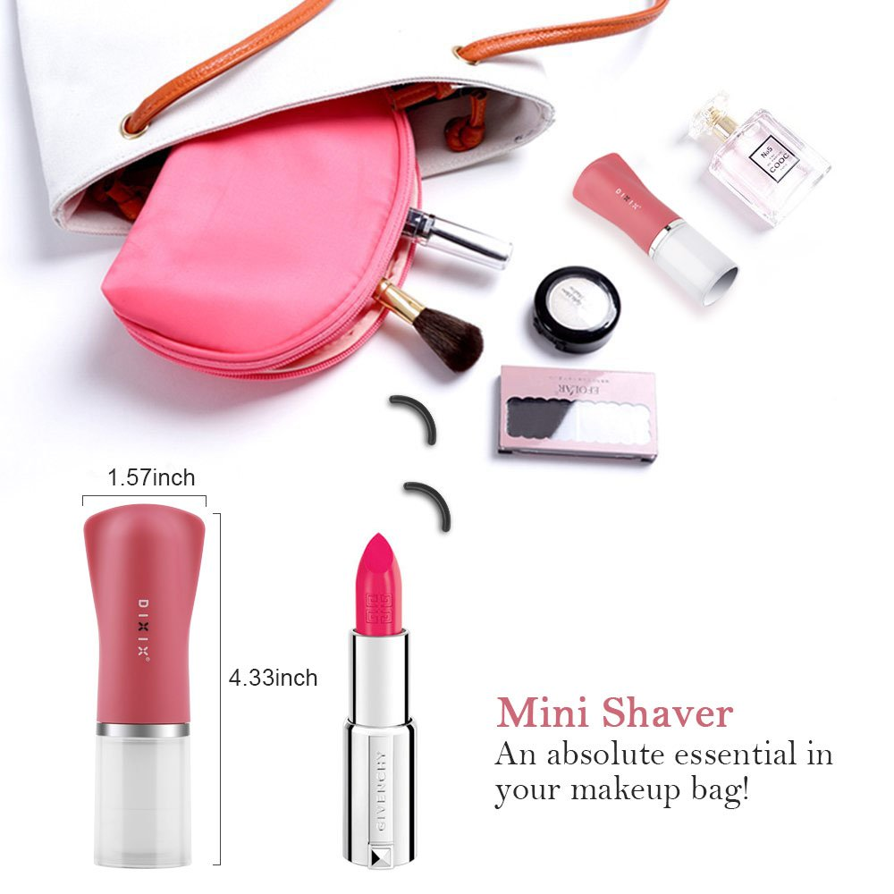 Hair Remover ARINO Facial Hair Remover Trimmer Shaver Painless Face Hand Leg Arm Armpit Eyebrow Hair (Pink)