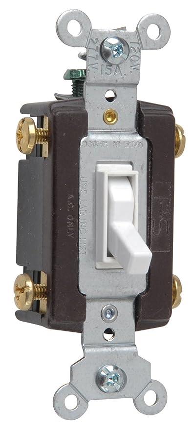 legrand - pass & seymour 664wgcc12 four way toggle grounding switch 15-amp  120-volt, white - wall light switches - amazon com