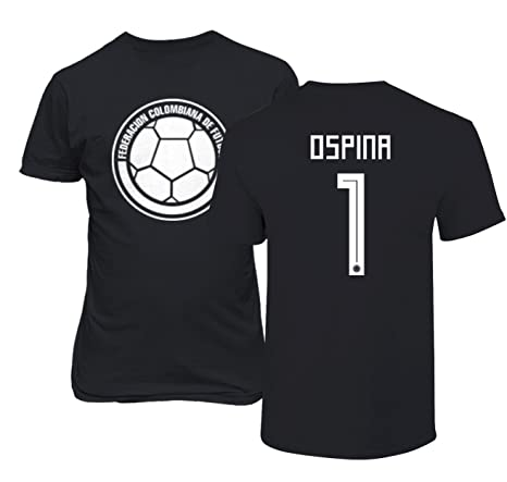6095c17ccb3 Tcamp Colombia 2018 National Soccer  1 David OSPINA World Championship  Men s T-Shirt (