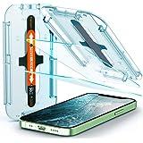 Spigen Protector pantalla de vidrio templado [Glas.tR EZ Fit] diseñado para iPhone 12 mini (2020) - 2 paquetes