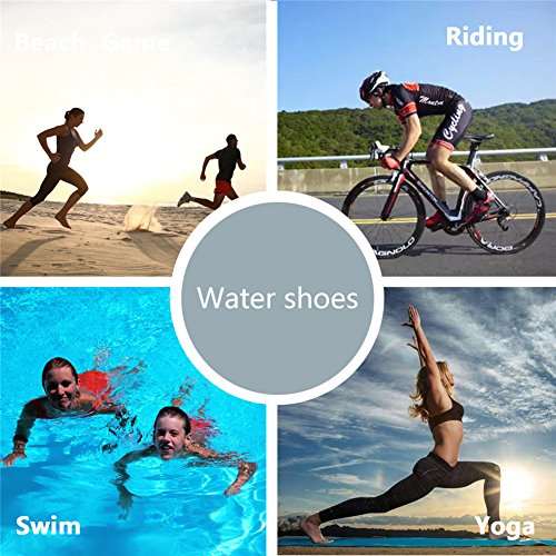 Slip On Swim Socks Barefoot Beach Shoes Surf Dry Aqua for Women Love HMIYA Men Quick Water Black Yoga zxqYn7PX