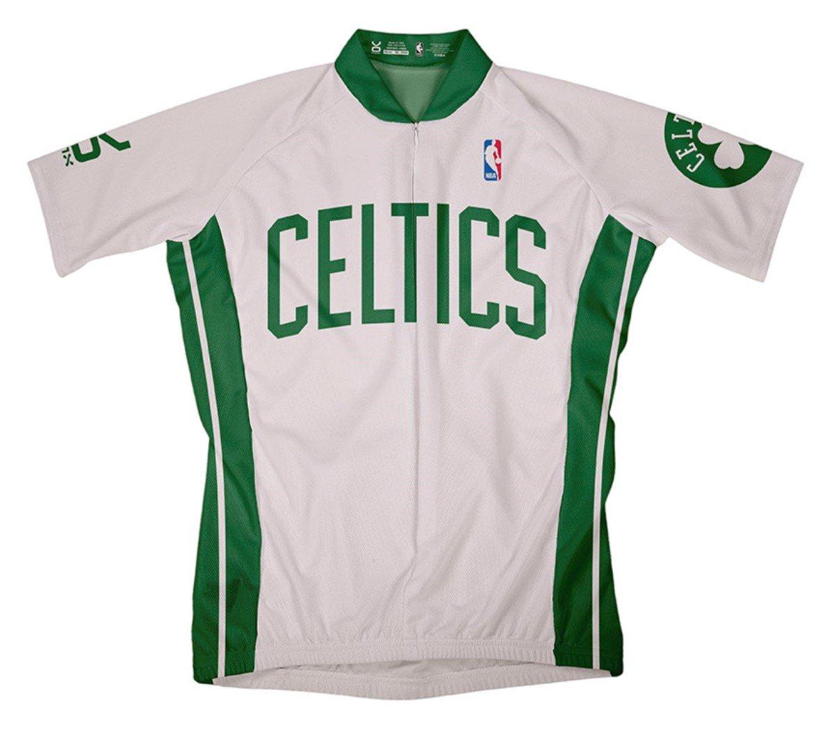 NBA Boston Celtics Women s Short Sleeve Away Cycling Jersey - Boston ... 9c54433d1