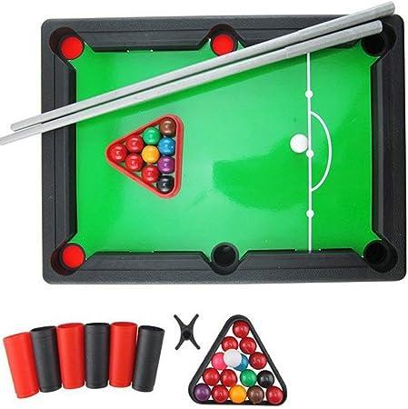 Dynamovolition Mini American Billiard Pool Room Juegos de Mesa Juguetes Deportivos Juguetes educativos para niños Entrenamiento de Ojos y Manos 1 Juego: Amazon.es: Hogar