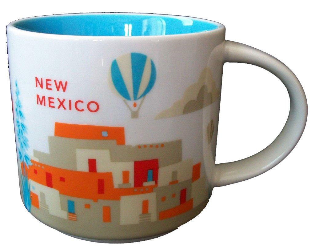 2013 Starbucks New Mexico ''You Are Here'' Collectors 14 Oz. Mug