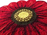 MeMoreCool Handmade Needlepoint Sunflower Area Rugs