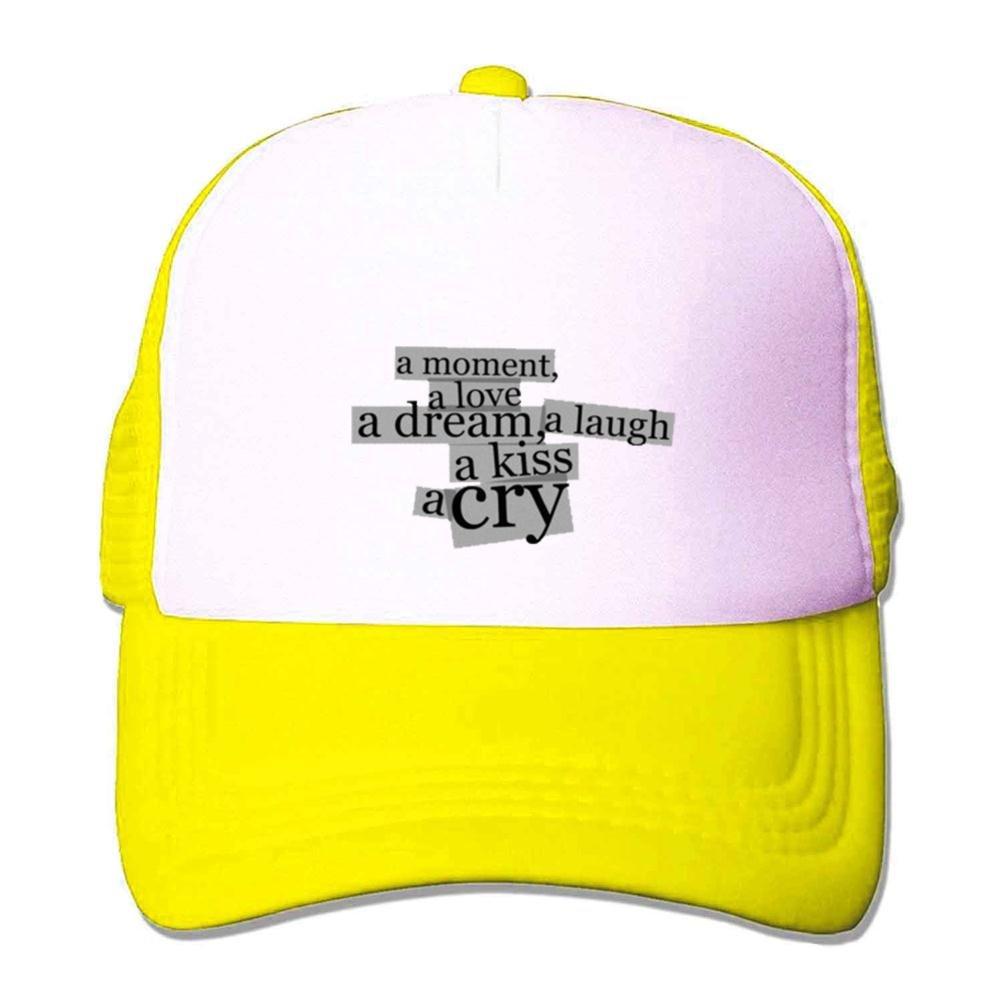 Mcczox The Temper Trap Diy Fashion Mesh Hat Yellow At Amazon Mens