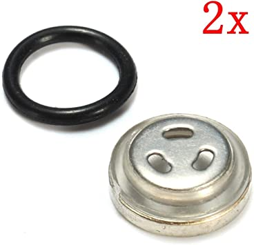 Motorcycle ?18mm Sight Glass Oil Sight Glass With Seal For Brake Pump Brake Cylinder 4 Pcs.