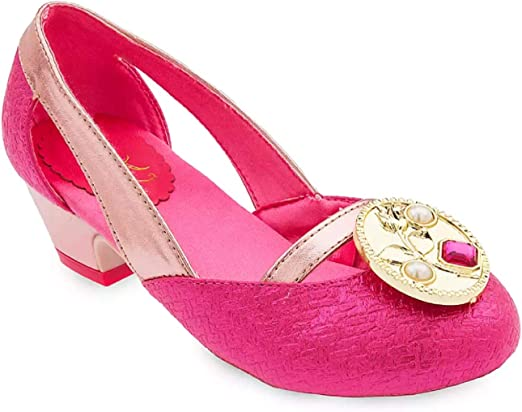 Disney Aurora Costume Shoes for Kids Sleeping Beauty Pink