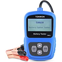 Car Battery Tester, Auto Battery Digital Analyzer TONWON Electric Battery Load 12V Tester Directly Detect Bad Battery…