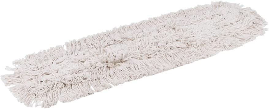 """New 36/""""x 5"""" Industrial Strength Washable Cotton Dust Mop Refill//Replacement Head"""