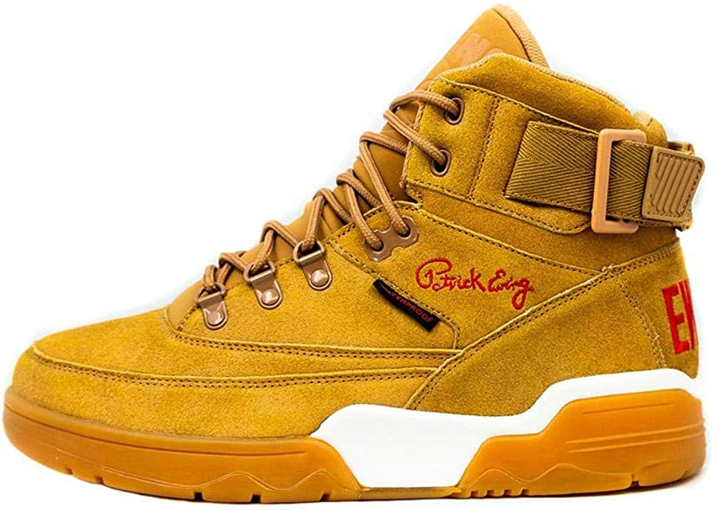 PATRICK EWING Athletics 33 HI Winter Wheat//Gum//Red 1BM00238-918