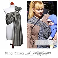 GuGaSling Olive Baby ring sling with gift bag