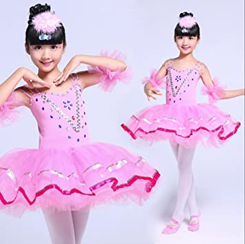 5cc529f65 SMACO Bailarina Disfrazarse para Niñas Disfraz De Baile Ballet Tutú ...
