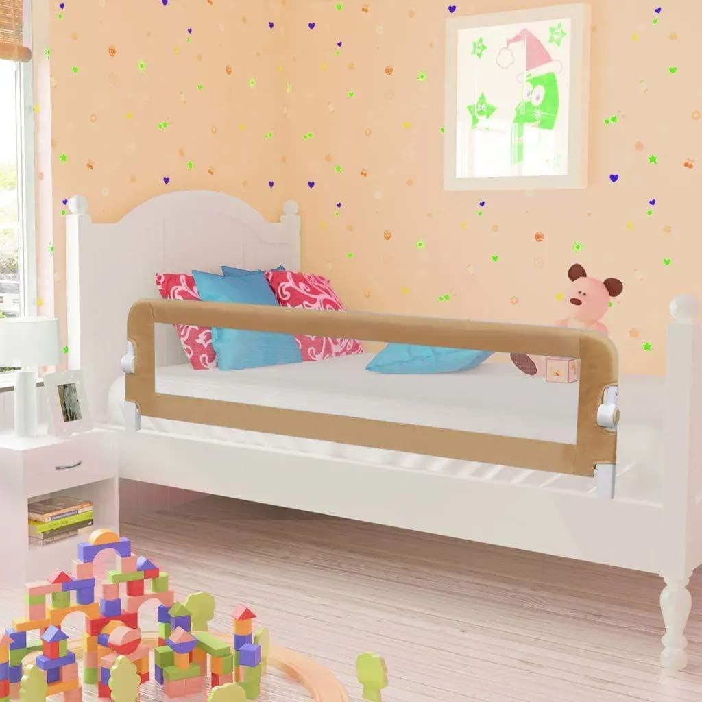 Barandilla de La Cama Guardia de Seguridad para Ni/ños,Port/átil Barrera de cama para beb/é Protecci/ón contra ca/ídas