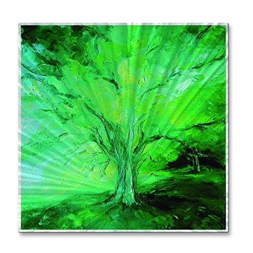 All My Walls 0128ME00012 Metal Wall Sculpture Art 'Polo Verde' Abstract Tree Wall Hanging Nelya