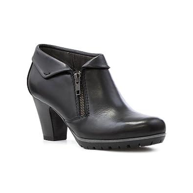 Chaussures À Lacets Noir Avec Talon Jana 3nYAT6h2D