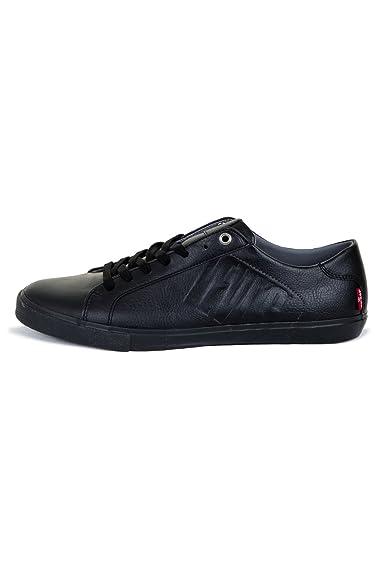 5f76fc577b535 Baskets Mode Levis 227814 Woods 501 Noir  Amazon.fr  Chaussures et Sacs