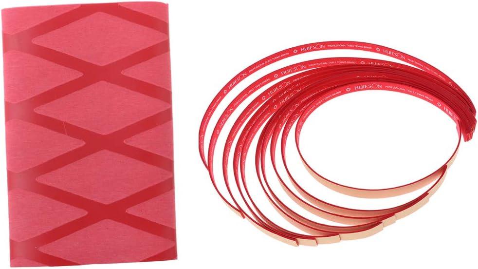 Injoyo Cinta Adhesiva + Agarre de Paleta de Tenis de Mesa Cinta de Agarre Suave Accesorios de Entrenamiento de Pong