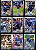 Milwaukee Brewers 2015 Topps MLB Baseball Regular Issue Complete Mint 23 Card Team Set with Carlos Gomez, Ryan Braun Plus
