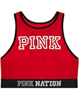 Victoria's Secret PINK Fashion Show Racerback Bra Top Red