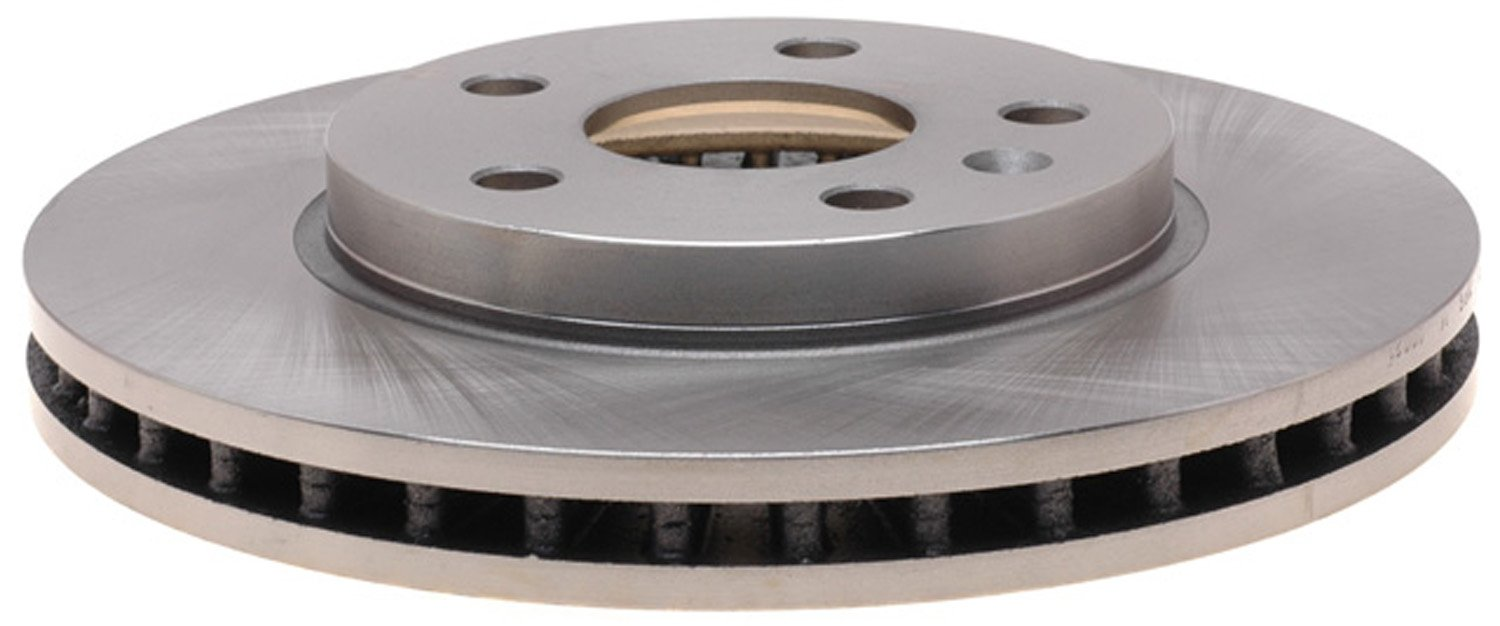 ACDelco 18A2802A Advantage Non-Coated Front Disc Brake Rotor