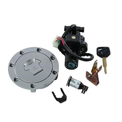Amazon Com Fuel Gas Cap Ignition Switch Lock Key For Honda Cbr600