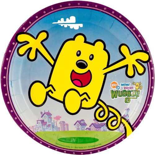 Wow! Wow! Wubbzy! Small Paper Plates (8ct)