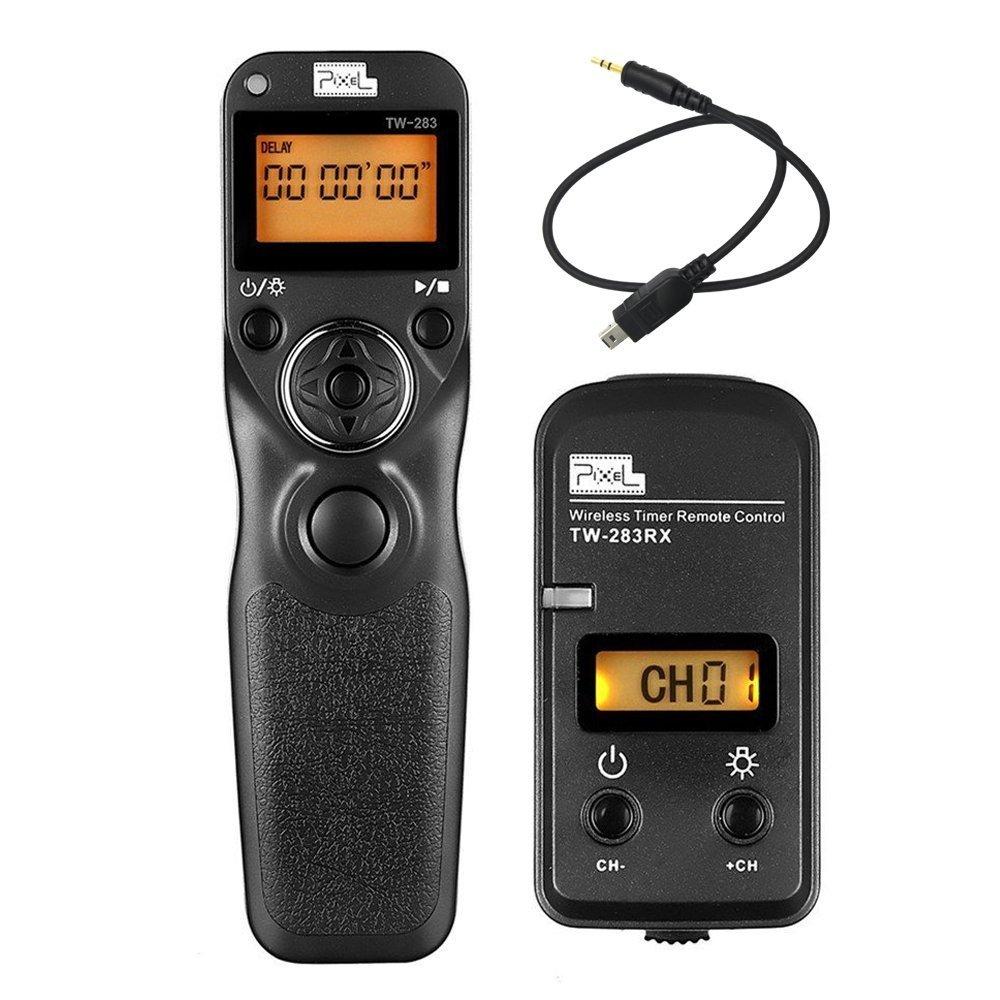 Pixel Timer Shutter Release Remote Control TW283-DC2 Remote Release for Nikon D5600 D3100 D3200 D3300 D5000 D5100 D5200 D5300 D5500 D90 D7000 D7100 D7200 D600 D610 D750