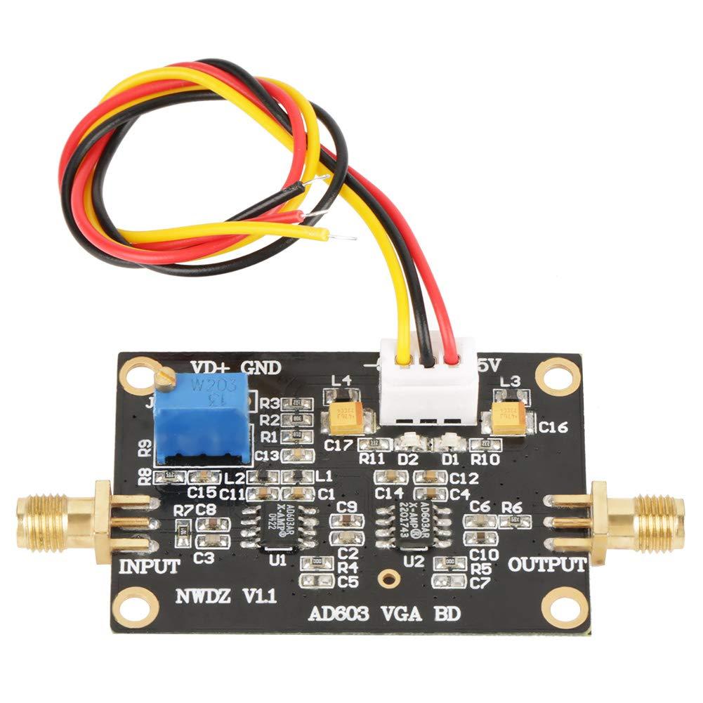 AD603 Gain Wideband Amplifier Module DA Control Programmable AGC Amp 90M Adjustable Hilitand