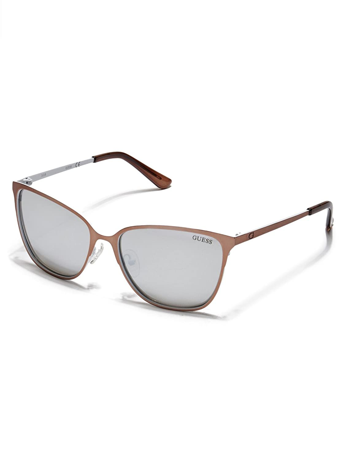 GUESS Women's Retro Metal Sunglasses