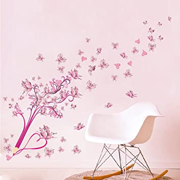 Silveroneuk Stickers Muraux Chambre decoration murale vignette salon ...