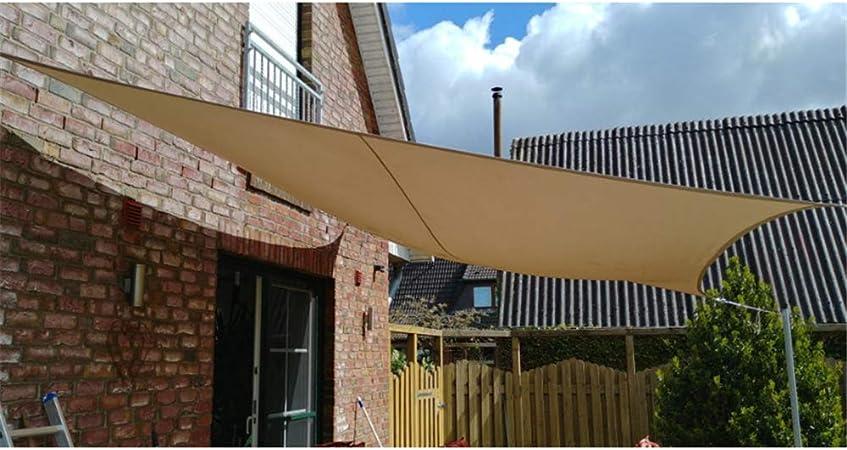 LANGYINH Sun Shade Sail Paño Anti UV Impermeable Toldo Sombra con Cuerda De Nylon para Jardín Patio Instalación Al Aire Libre Y Ocupaciones,10X13 Pies,A11: Amazon.es: Deportes y aire libre