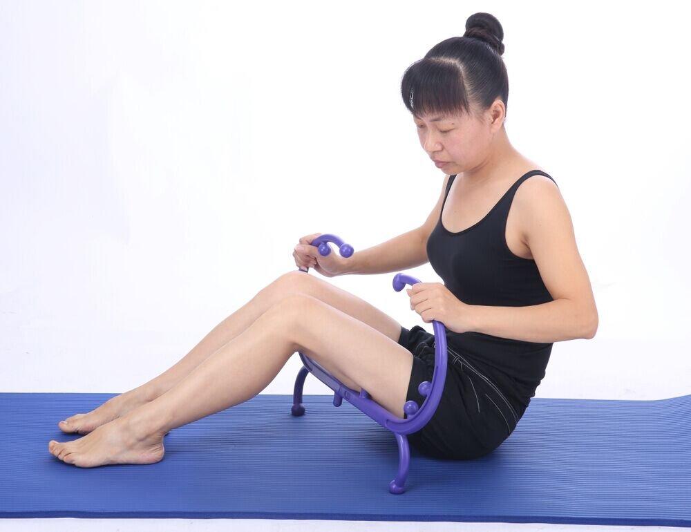 AmazeFan Trigger Point Therapy Self Massage Tool, Lower Back Massager, Neck Massager, Shoulder Massager, Myofascial Release Tool - Deep Muscle Massage by AmazeFan