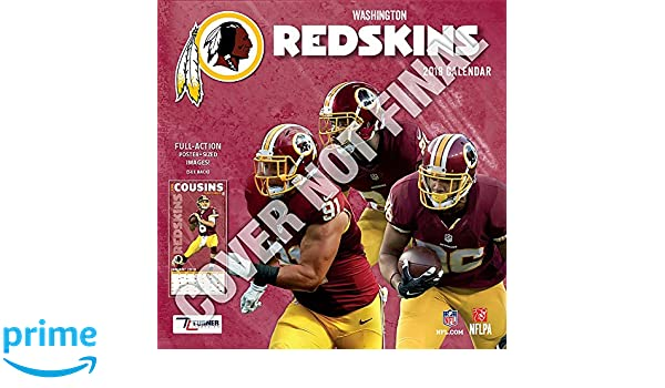 64e02fa1efb Washington Redskins 2019 Calendar  Lang Holdings Inc.  9781469360324   Amazon.com  Books