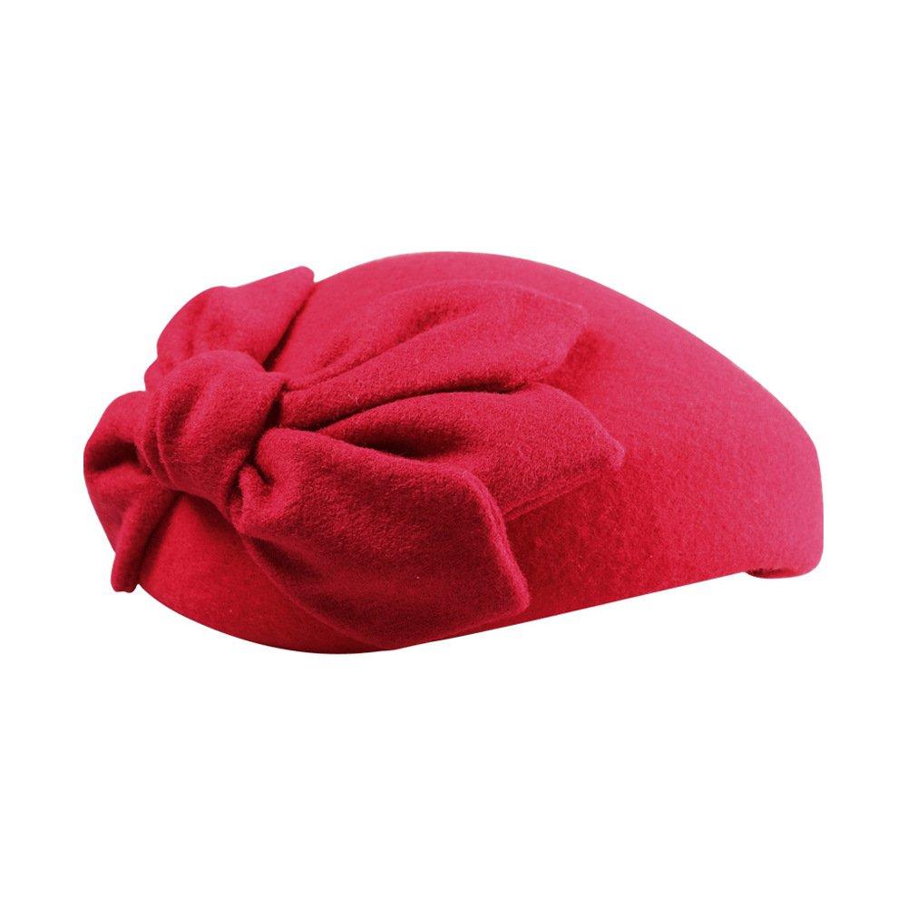 Pillbox Hat Womens Fascinators Hat Vintage Cocktail Tea Party Hat with Bow